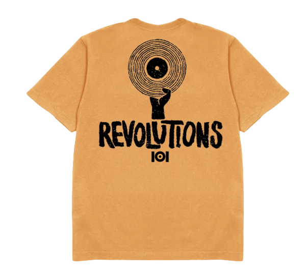 Revolutions Tee - GOLD