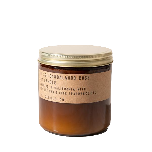 Sandalwood Rose Large Soy Candle