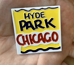 Hyde Park Chicago Bodega Style Pin