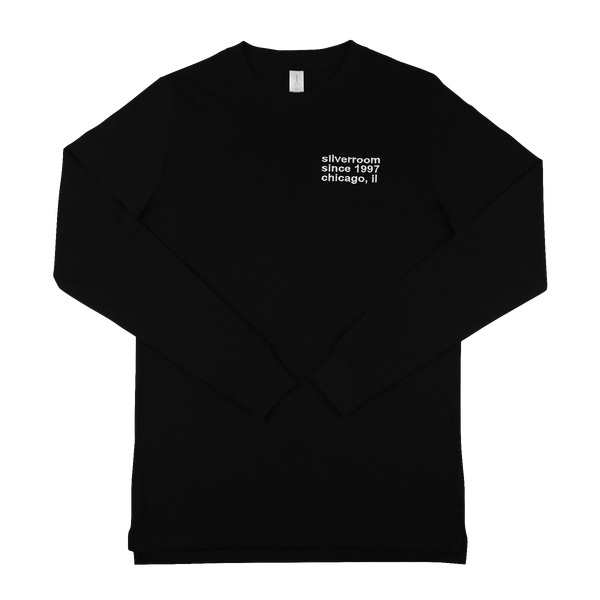 Silverroom Since 1997 Embroidered Unisex Long Sleeve