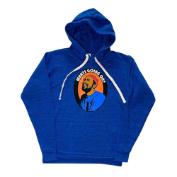 What's Going On Blue Hoodie