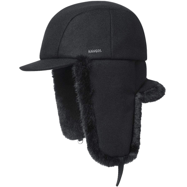 Wool Aviator Black on Black