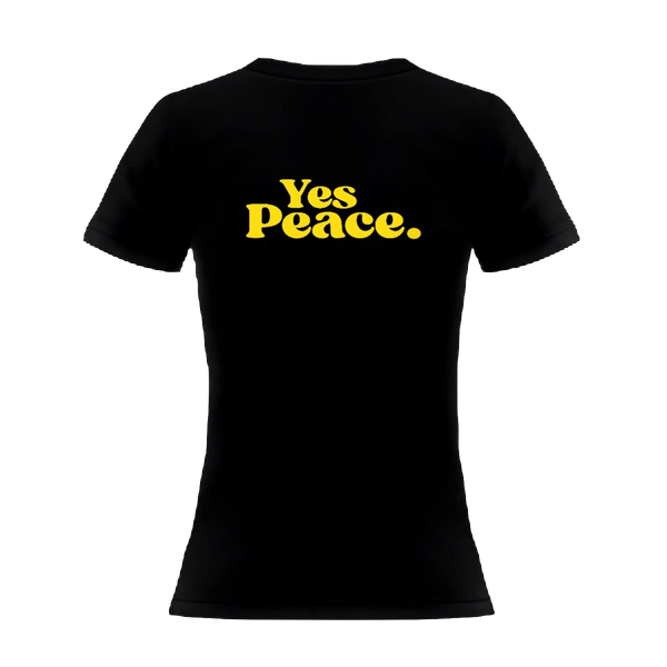 Yes Justice, Yes Peace Women's T-Shirt
