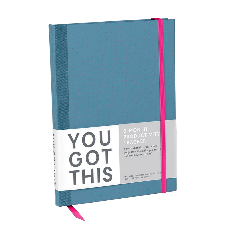 You Got This Productivity Journal (Blue)