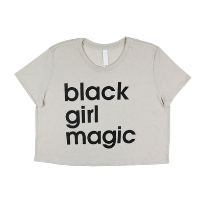 Black Girl Magic Crop Top