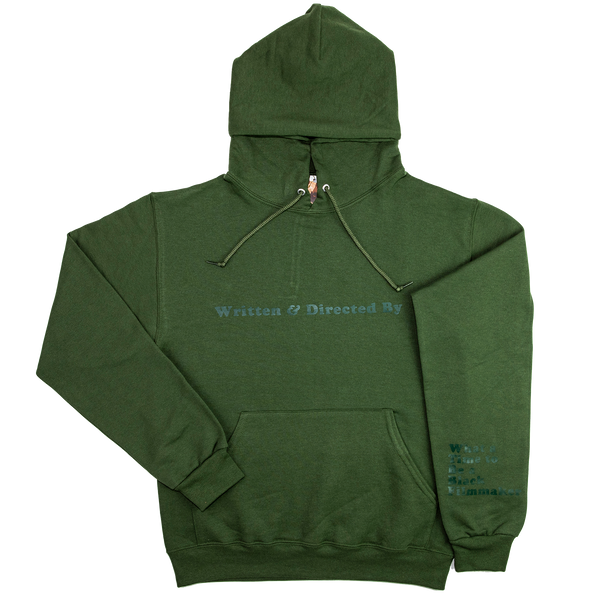 Written & Directed By Collard Greens Hoodie