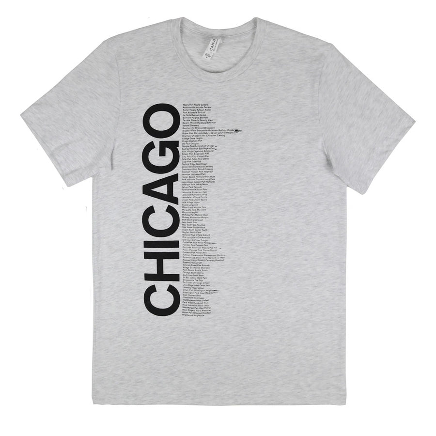 CHI Neighborhoods T-Shirt - Grey