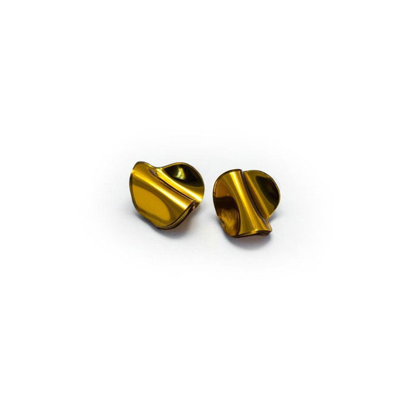Reflect Gold Studs Small