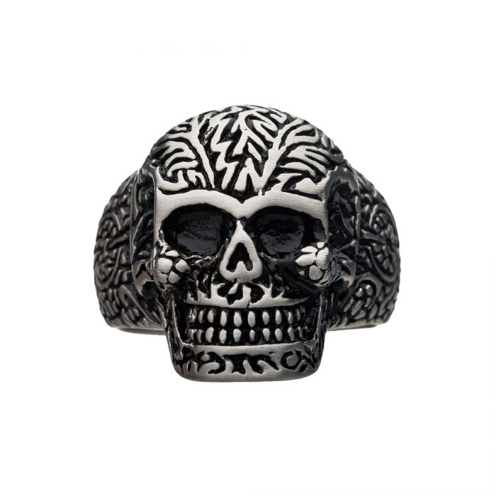 Decorative Skull Ring