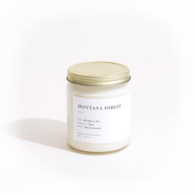Montana Forest Minimalist Brooklyn Candle