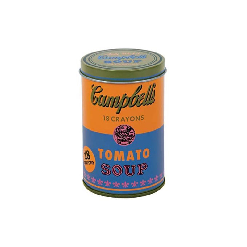Andy Warhol Tomato Soup - 18 Crayons