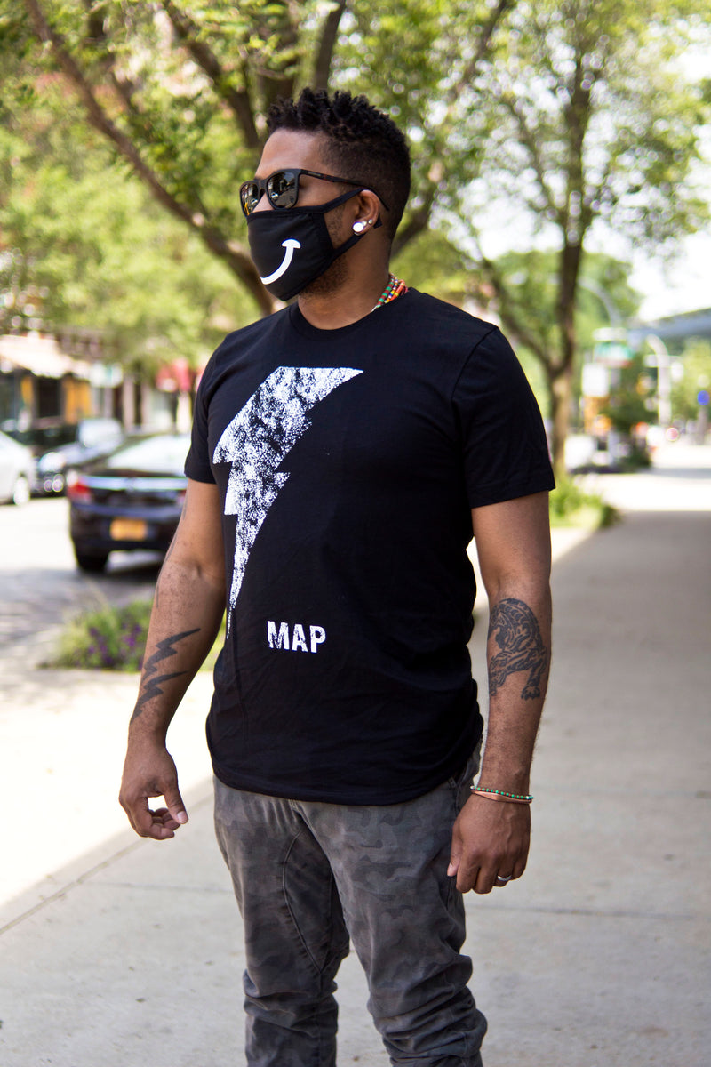 MAP Tee by Ron Trent