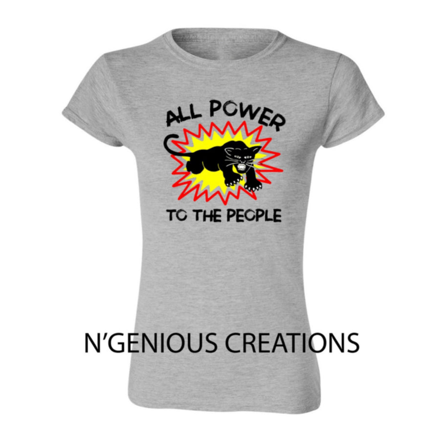 All Power to The People Women's T-shirt