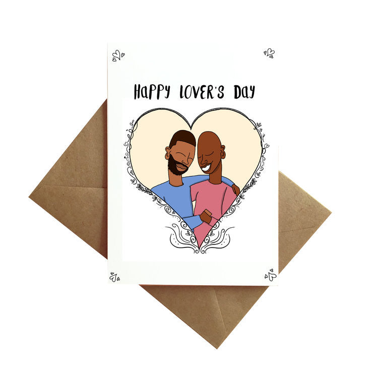 Happy Lover's Day Card - His Card