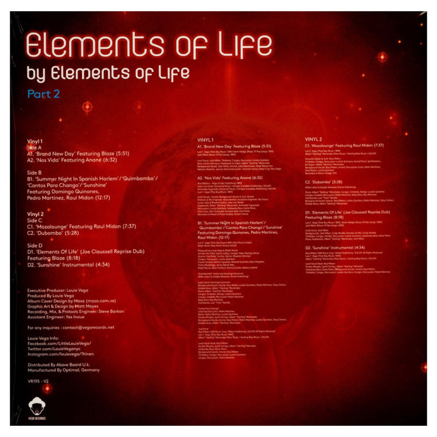Elements of Life / Elements Of... Part 2 DLP