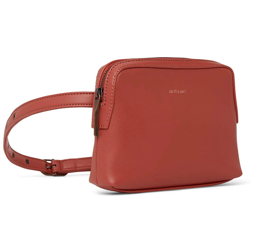 Matt & Nat Paris Loom Vegan Leather Belt Bag