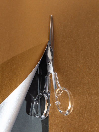 Acrylic Scissors in Silver