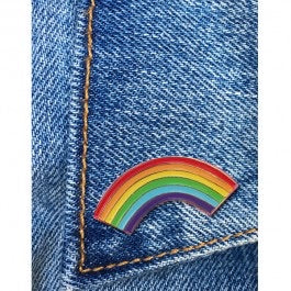 Rainbow Pin by The Found