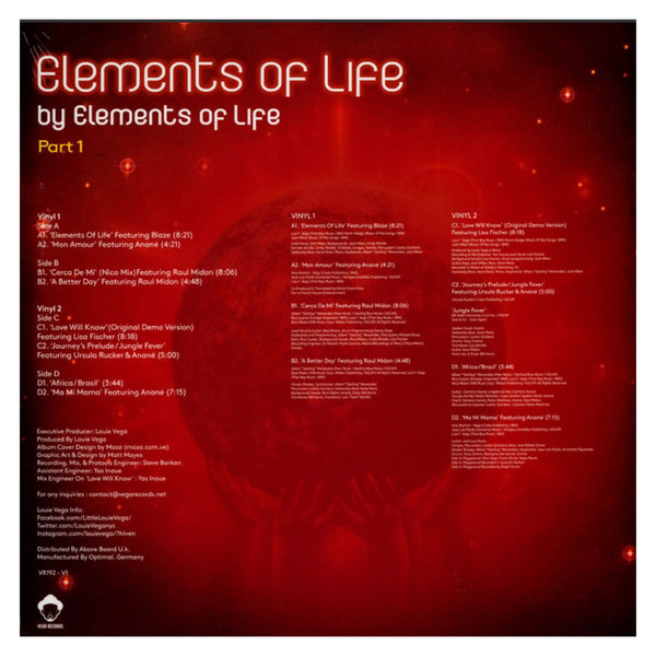 Elements of Life / Elements Of... Part 1 DLP