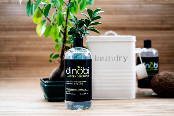 Dinobi Laundry Detergent (Recyclable Glassware)