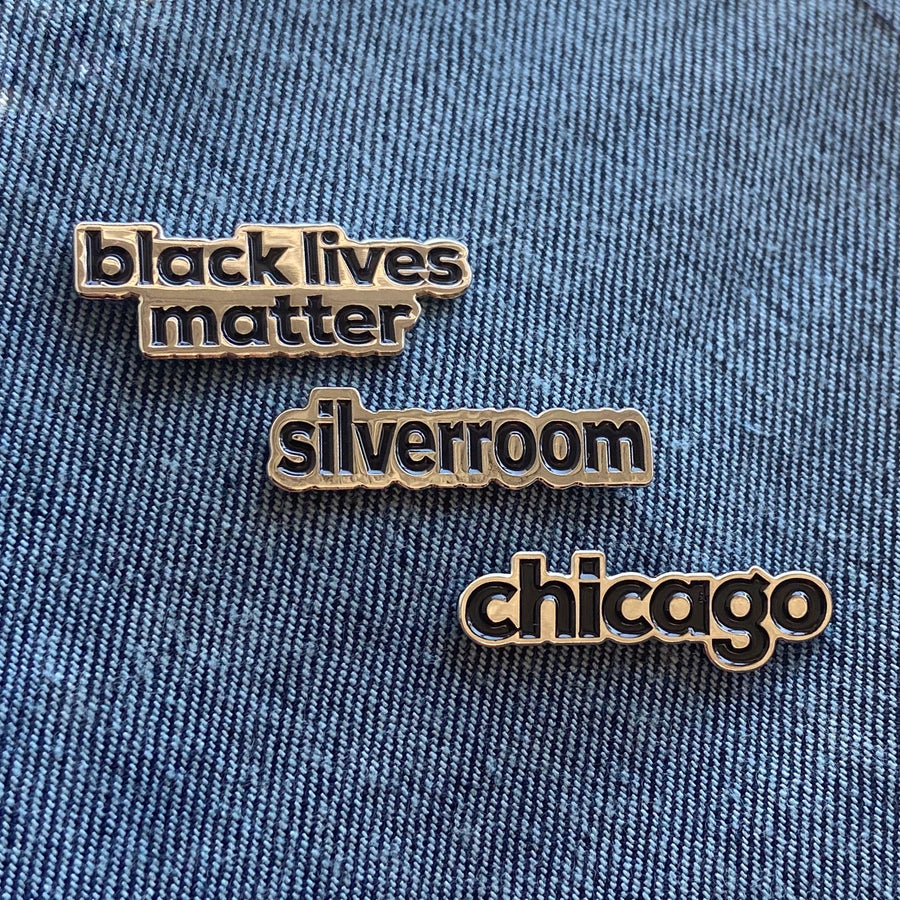 Silver Room BLM Chicago Pin Trifecta