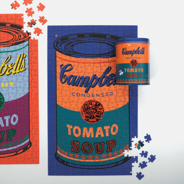 Andy Warhol Campbell's Soup 300 pc Puzzle
