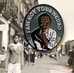 James Baldwin Soft Enamel Pin