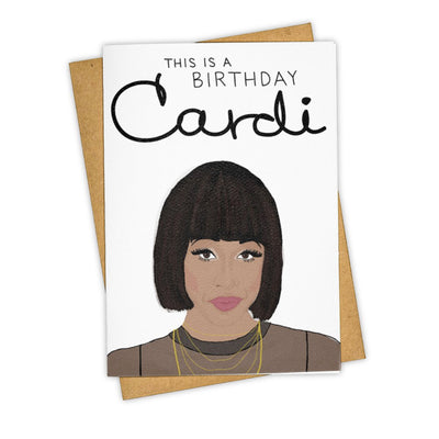 Birthday Cardi Greeting Card