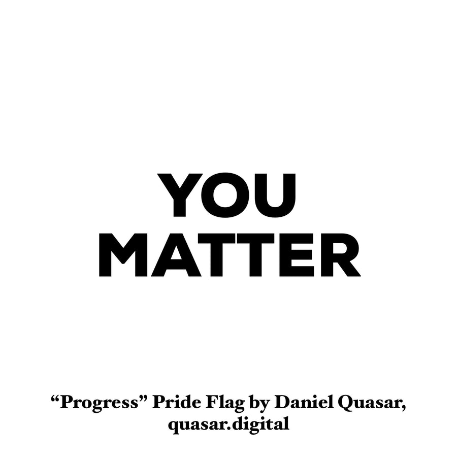 Progress Pride Flag Lapel Pin