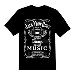 Jack Your Body! House Music Unisex Tee