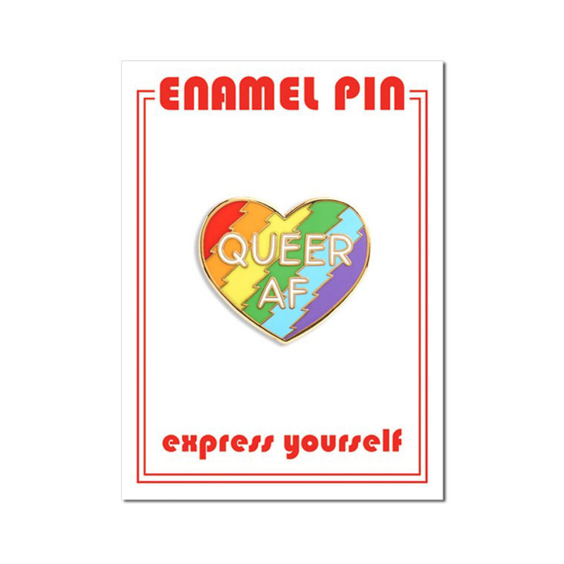 Queer AF Pin by The Found