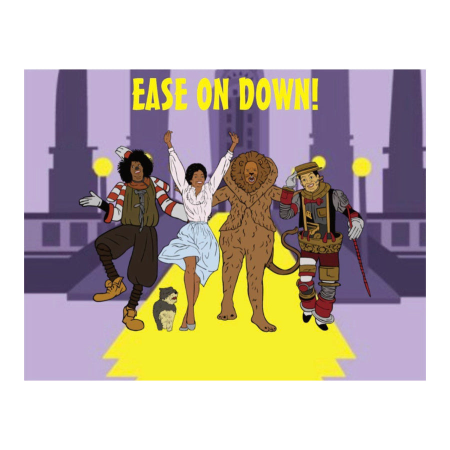 Ease On Down! Greeting Card