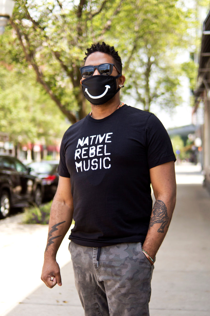 Native Rebel Music Men's Tee by Ron Trent