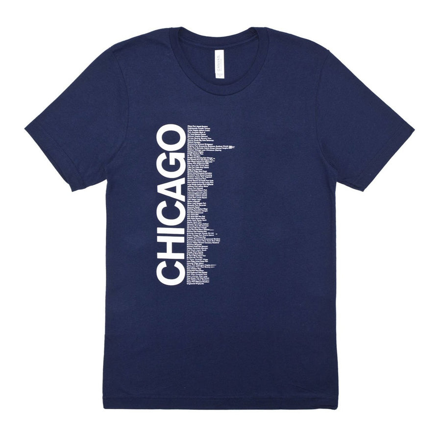 CHI Neighborhoods T-Shirt - Navy Blue