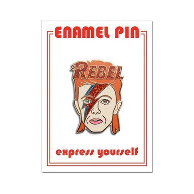 David Bowie Pin by The Found