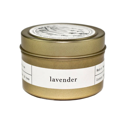 Lavender Brooklyn Travel Candle