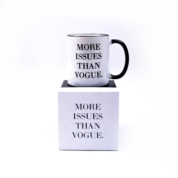 More Issues Than Vouge Mug