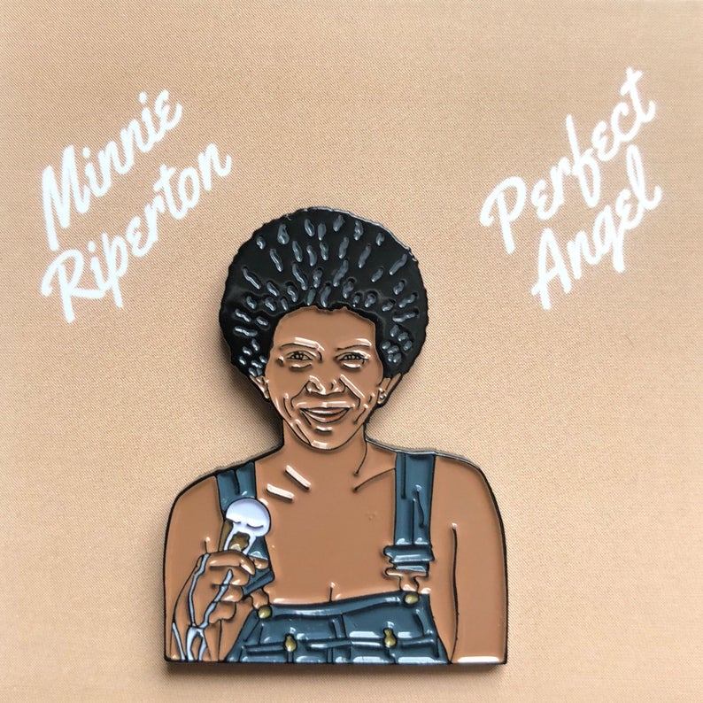 Minnie Riperton - Enamel Pin by Reformed School