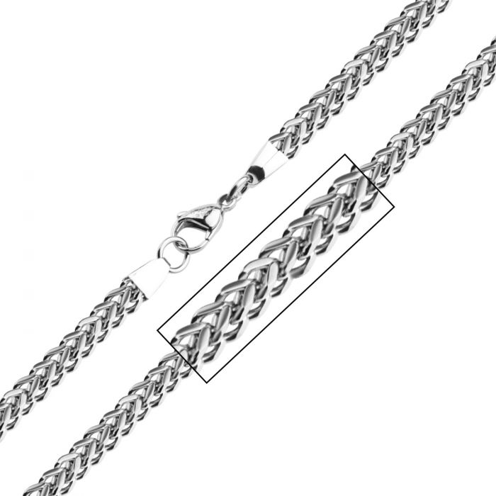 Stainless Steel Franco Chain (6mm)