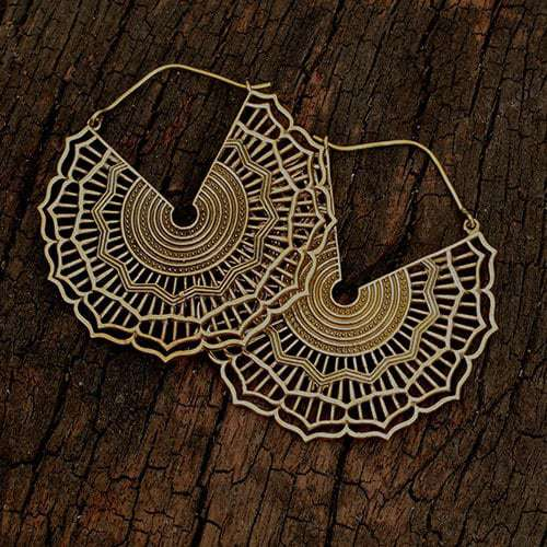 Baizaar Sundial Earrings - BE050