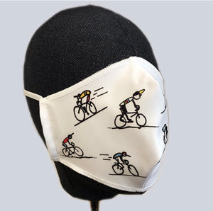 Mondmasker fietsers - On And On