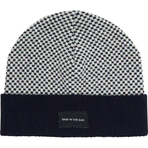 Jon beanie blauw - Bask in the sun