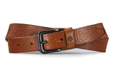 Comb riem cognac - Fasten your beans belt