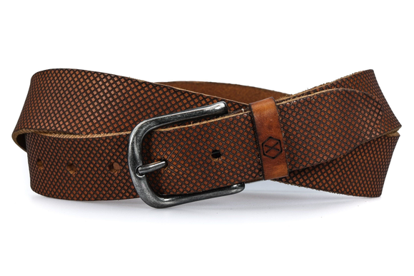Gems riem cognac - Fasten your beans belt