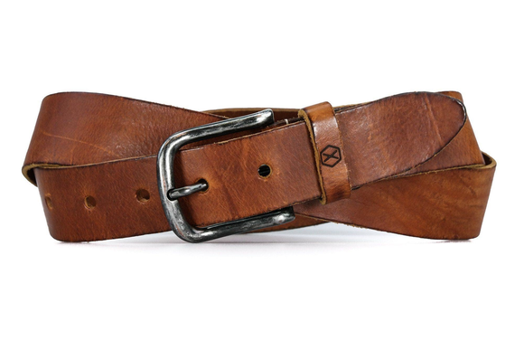 Spic riem cognac - Fasten your beans belt
