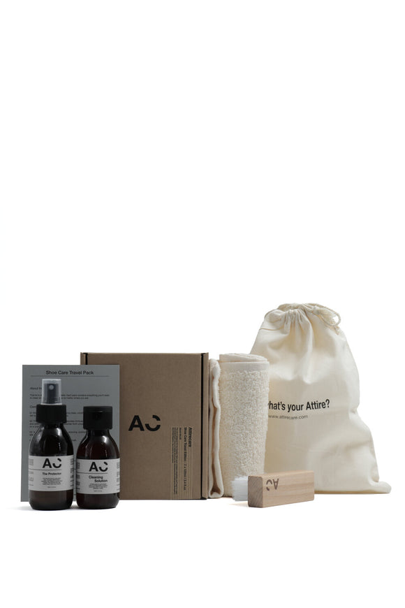 Shoe care travel set - Attirecare