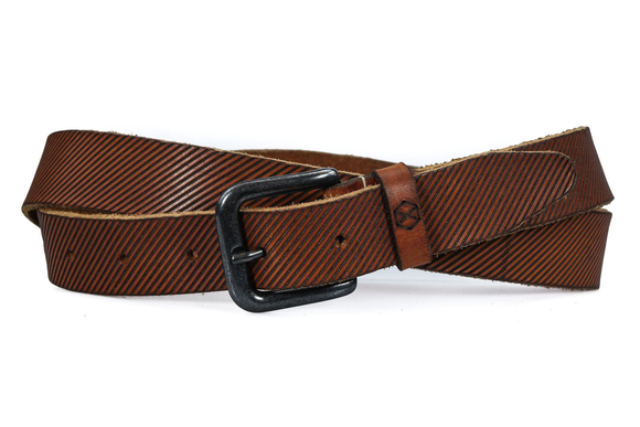 Welts riem cognac - Fasten your beans Belt