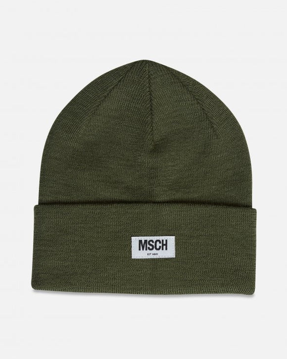 Mojo beanie grape leaf - Moss Copenhagen