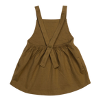 Load image into Gallery viewer, Organic Pinafore Dress - Spice