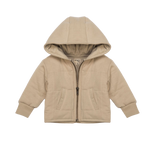Load image into Gallery viewer, Organic Quilted Jacket - Oat
